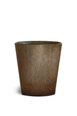Artstone Indoor Plastic Planter - Pewter