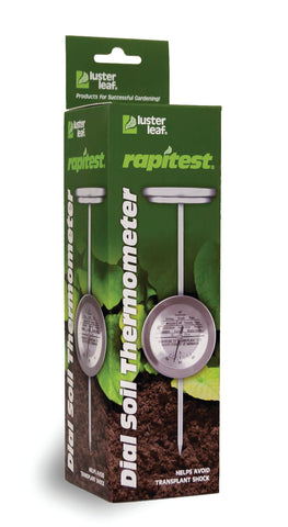 Rapitest Dial Soil Thermometer