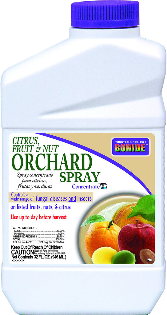 Citrus, Fruit & Nut Orchard Spray