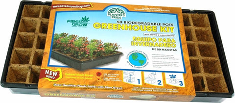 Fiber Grow 50 pot Greenhouse Kit
