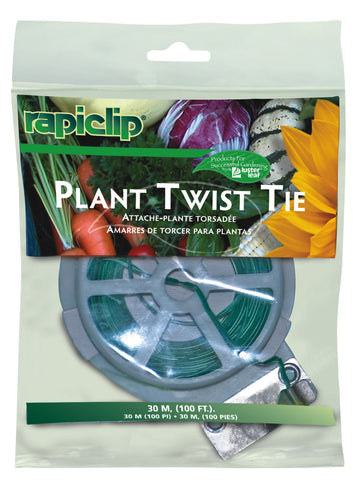 Rapiclip Plant Twist Tie with Cutter