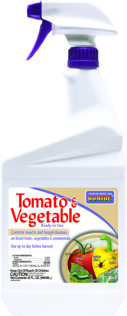 Tomato & Vegetable 3-N-1 Spray