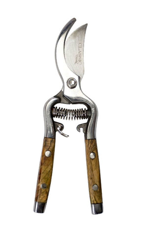 Classic Wood Handle Bypass Pruner