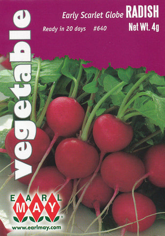 Early Scarlet Globe Radish Seeds