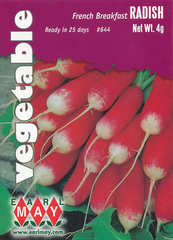 French Breakfast Radish Seeds