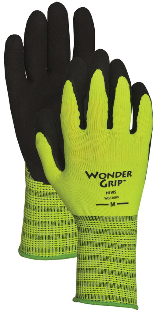 Yellow Wonder Grip Gloves