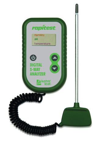 Rapitest 3-Way Soil Analyzer