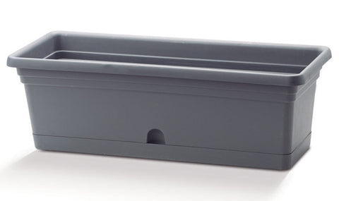 Crescent Emma Flower Box Charcoal - Ship to Store - Pickup In Store Only