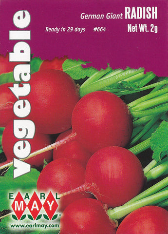 German Giant Radish Seeds