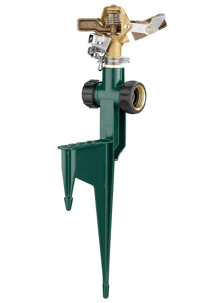 Impact Sprinkler with Step Spike