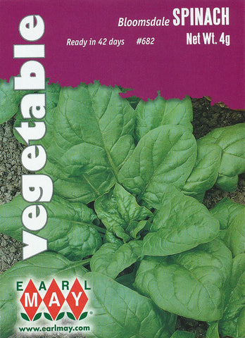 Bloomsdale Spinach Seeds