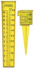 "Yellow 5"" Rain Gauge"