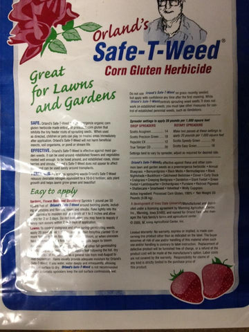 Orland's Safe-T Weed