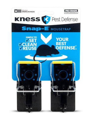 Snap-E® Mouse Trap 2/pk