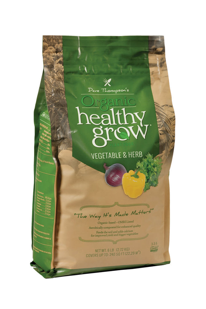 Healthy Grow Vegetable & Herb Fertilizer