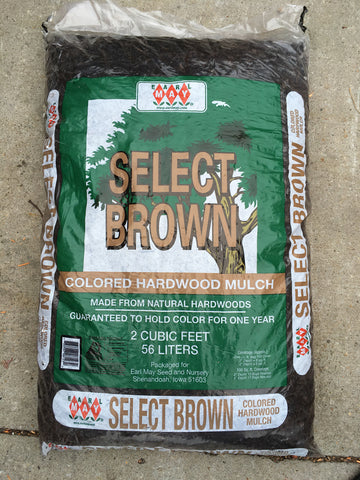 Earl May Select Brown Mulch - Ship to Store - Pickup In Store Only