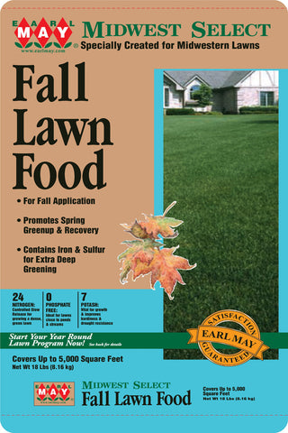 Earl May Fall Lawn Food