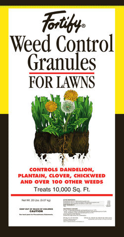 Fortify Weed Control Granules