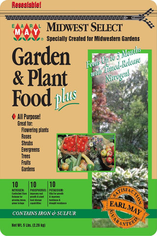 Garden and Plant Food Plus