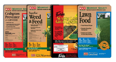 4 Step Lawn Program w/ Grub Control