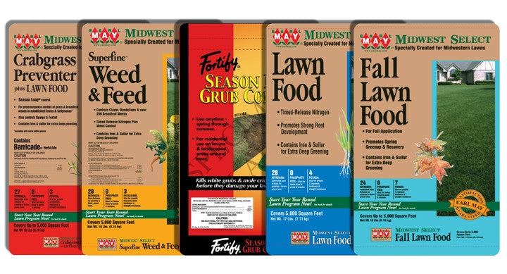 5 Step Lawn Program w/ Grub Control