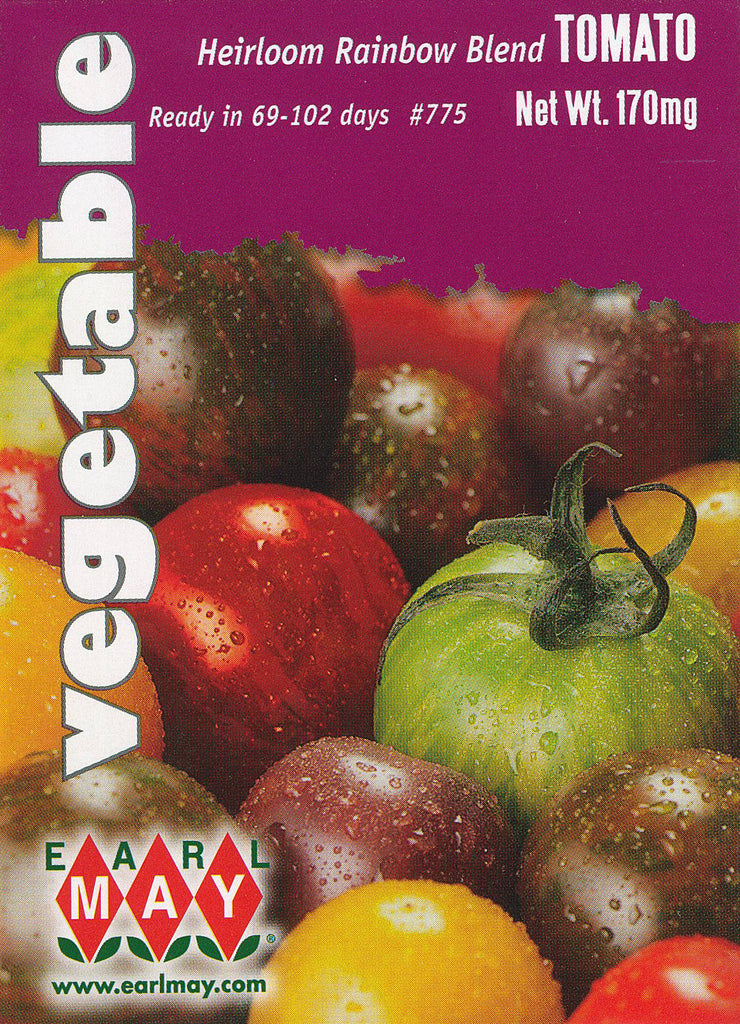 Heirloom Rainbow Blend Tomato Seeds