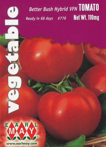 Better Bush Hybrid VFN Tomato Seeds