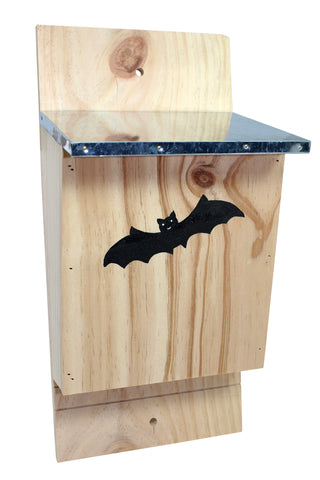 Bat House - Metal Roof