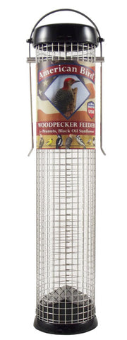 American Black Woodpecker Feeder