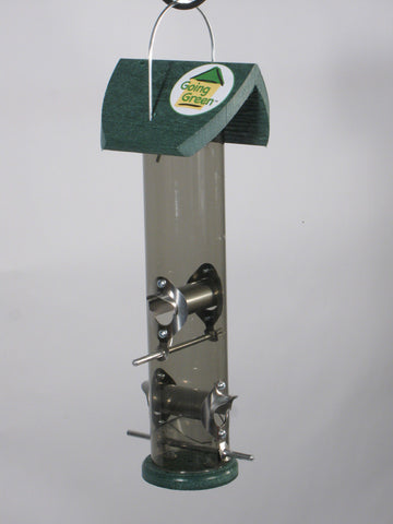 Going Green Tube Bird Feeder