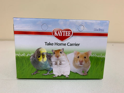 Kaytee Animal Carrier Take-Home Box