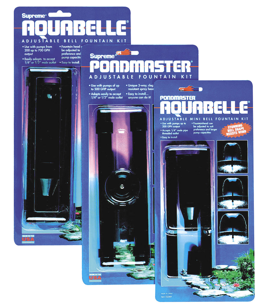 Pondmaster Aquabelle Adjustable Fountain Kit