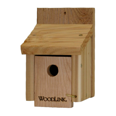 Woodlink Flat-Mounted Wooded Wren House
