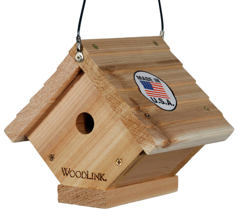 Woodlink Cedar Hanging Wren House