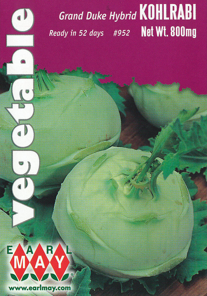 Grand Duke Hybrid Kohlrabi Seeds