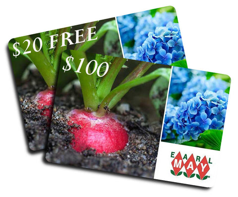 $100 Earl May Gift Card + FREE $20 Earl May Gift Card - ONLINE ONLY