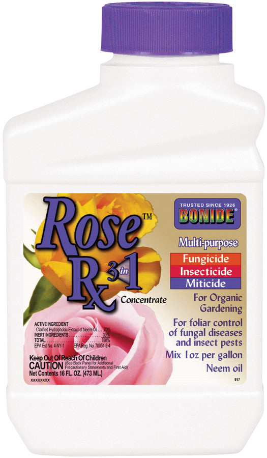 Rose Rx 3N1 Neem Oil Concentrate