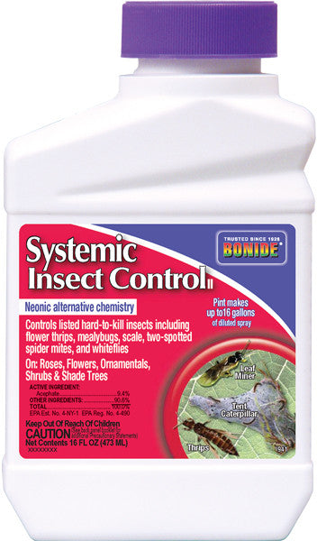 Systemic Ornamental Insect Control