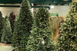 Artificial Christmas Trees - Available in Store Only