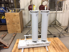 Hilco hilliard custom oil filtration system skid