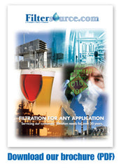 image over for the filtersource.com informational brochure to learn about our industrial filter company and sales