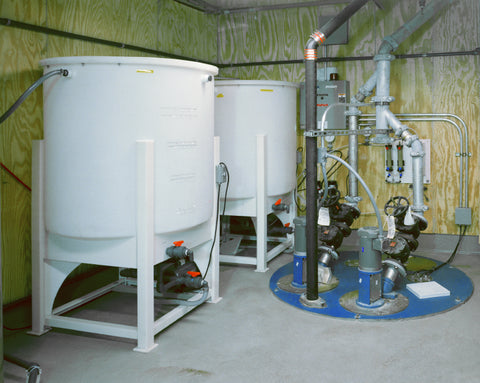 groundwater filter tank industrial process filtration remediation solution