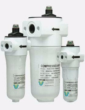 Van Air Systems F200 Series Compressed Air Filter Air Filter - Filtersource.com