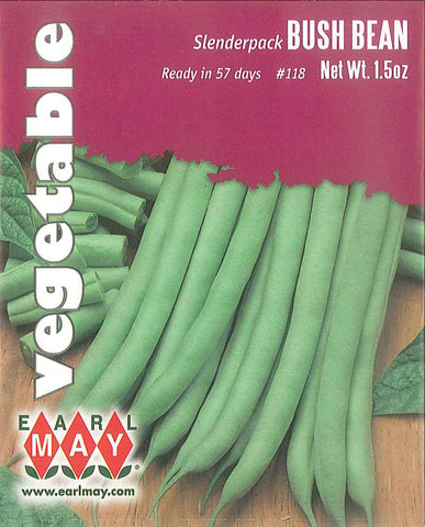 Slenderpack Bush Bean Seeds