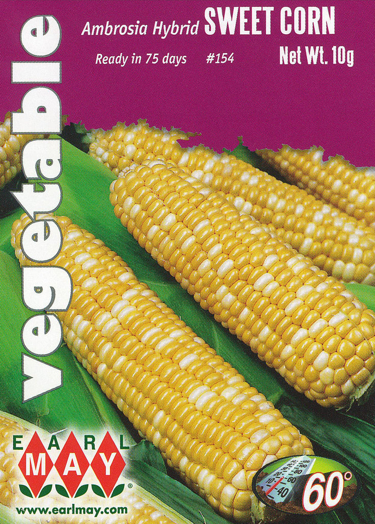 Ambrosia Hybrid Sweet Corn Seeds