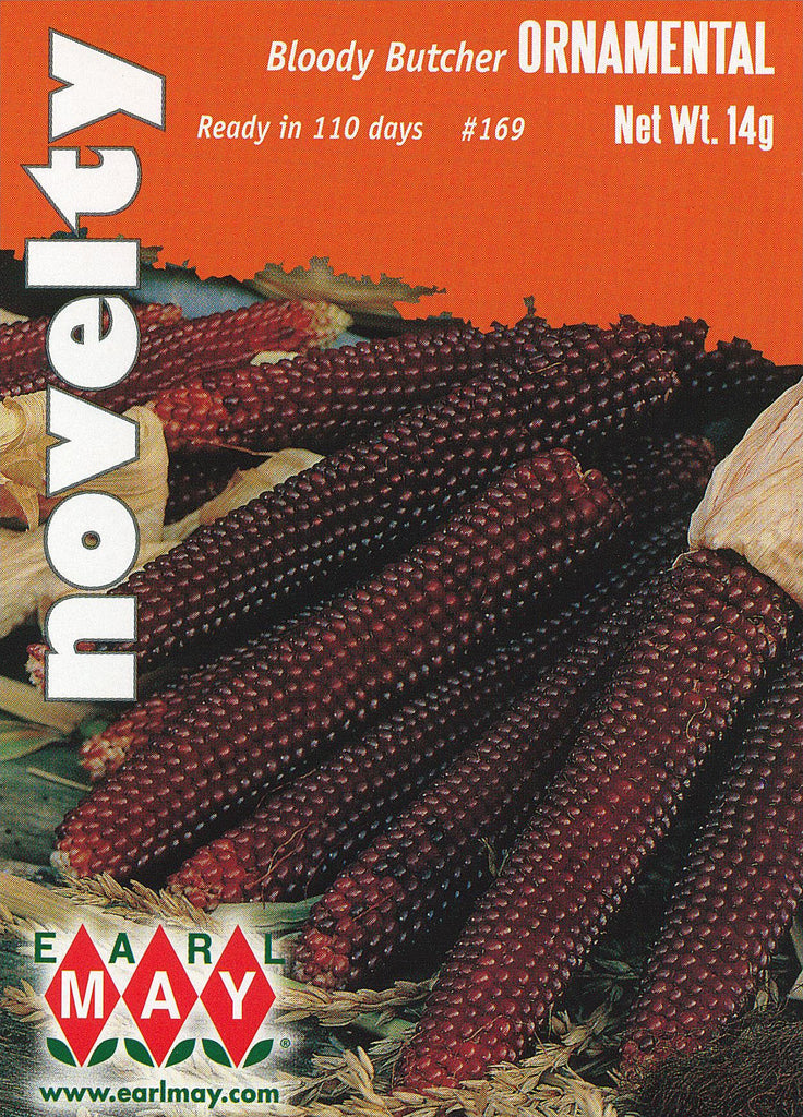 Bloody Butcher Novelty Corn Seeds