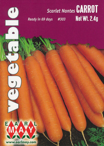 Scarlet Nantes Carrots Seeds