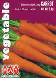 Danver's Half Long Carrots Seeds