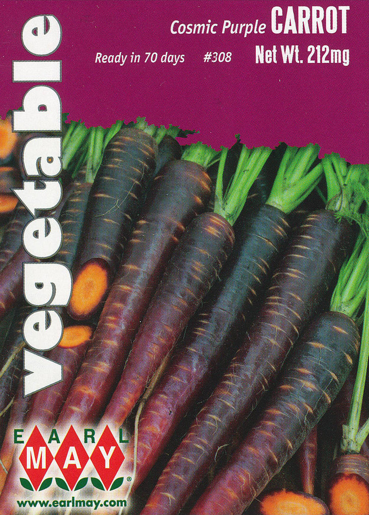Cosmic Purple Carrots Seeds