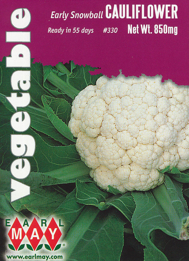 Early Snowball Cauliflower Seeds